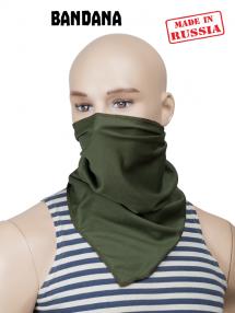 Breathable bandana, olive