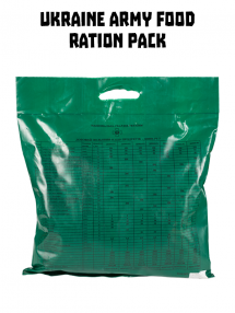 Ukrainian army food ration pack DPNP-R