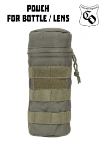 Bottle / lens pouch, olive