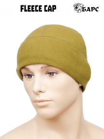 Flisová čiapka, khaki