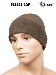Fleece cap, olive