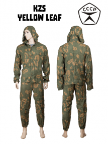 KZS suit, yellow leaf