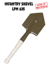 Egy kis gyalogos lapát LPM 6Э5 RATNIK