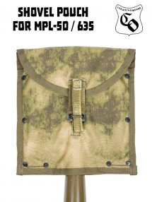 Pouch for small infantry shovel, mokh