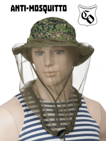 Anti-mosquito head cover, olive