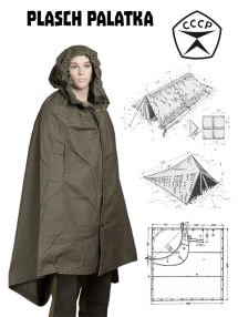Plasch-palatka (Cloak-tent)