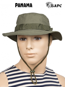 Panama hat, olive