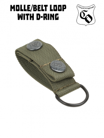 Belt loop with D-ring, olive