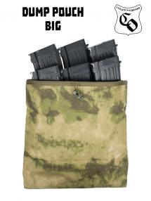 Dump pouch - big, mokh