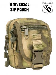 ZIP pouch, mokh