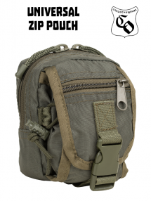 ZIP pouch, olive