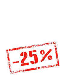 STAMP -25%