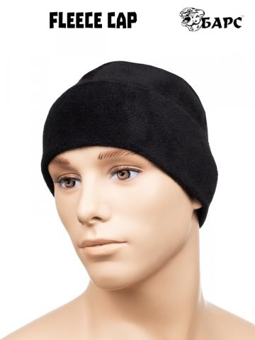 Fleece cap, black