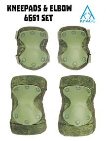 Komplet ochrany kĺbov 6Б51 RATNIK - verzia do 2019