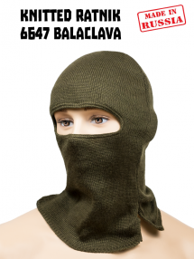 Balaclava from 6Б47 helmet RATNIK, olive