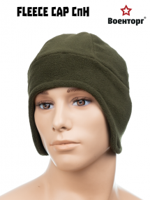 Flisová čiapka СпН, oliva
