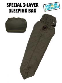 Special sleeping bag of Kazakhstan army