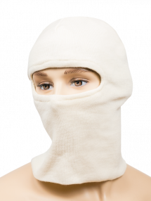 Balaclava from 6Б47 helmet RATNIK, white