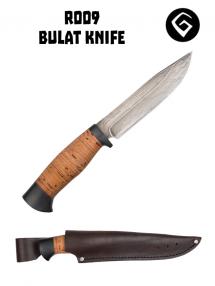 Bulatný nôž R009, Bulat / beresta