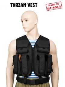 TARZAN vest, black