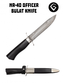 Nôž dôstojnícky NR-40, Bulat / hráb / nikel