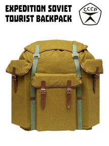 Tourist backpack expedition